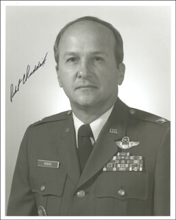 COLONEL ROBERT C. RUDDICK - AUTOGRAPHED SIGNED PHOTOGRAPH