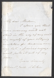 LUCY AIKIN - AUTOGRAPH LETTER SIGNED 1/26