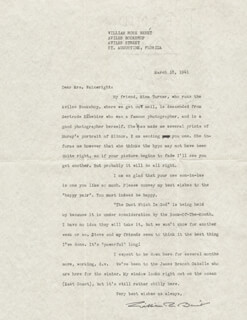 WILLIAM ROSE BENET - TYPED LETTER SIGNED 03/18/1941