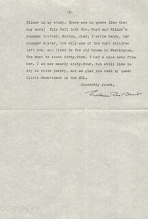 WILLIAM ROSE BENET - TYPED LETTER SIGNED 12/22/1949
