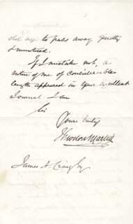 SIR THEODORE MARTIN - AUTOGRAPH LETTER SIGNED 02/23/1904