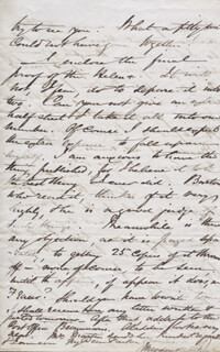 SIR THEODORE MARTIN - AUTOGRAPH LETTER SIGNED 09/10/1857