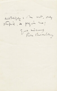 DAME EMILIE ROSE MACAULAY - AUTOGRAPH LETTER SIGNED 08/11/1924