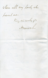 HERMAN CHARLES MERIVALE - AUTOGRAPH LETTER SIGNED 10/24