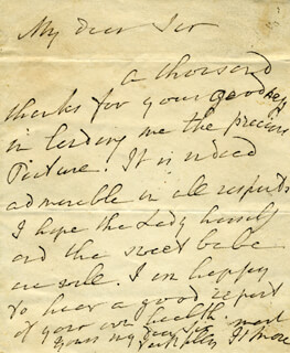 HANNAH MORE - AUTOGRAPH LETTER SIGNED CIRCA 1811