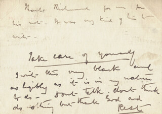 MARGARET (WILSON OLIPHANT) OLIPHANT - AUTOGRAPH LETTER UNSIGNED