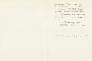 WILLIAM ROSE BENET - AUTOGRAPH LETTER SIGNED 12/06/1940