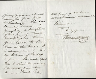 SIR THEODORE MARTIN - AUTOGRAPH LETTER SIGNED 02/12/1879