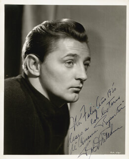 ROBERT MITCHUM - AUTOGRAPHED INSCRIBED PHOTOGRAPH 1950