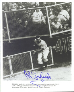 AL THE LITTLE ITALIAN GIONFRIDDO - AUTOGRAPHED SIGNED PHOTOGRAPH