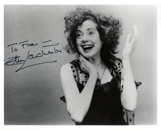 ELSA LANCHESTER - AUTOGRAPHED INSCRIBED PHOTOGRAPH CIRCA 1983