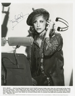 JULIE BUDD - AUTOGRAPHED SIGNED PHOTOGRAPH