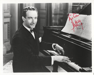 VICTOR BORGE - AUTOGRAPHED INSCRIBED PHOTOGRAPH