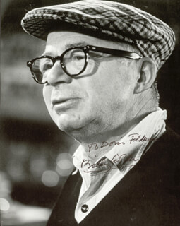 BILLY WILDER - AUTOGRAPHED INSCRIBED PHOTOGRAPH