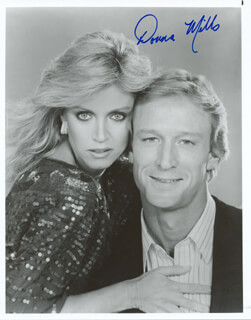 DONNA MILLS - AUTOGRAPHED SIGNED PHOTOGRAPH