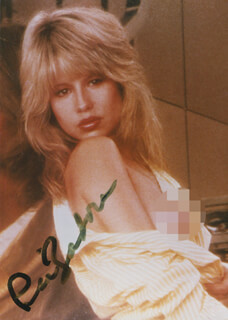 PIA ZADORA - AUTOGRAPHED SIGNED PHOTOGRAPH