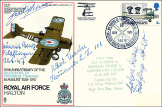 HEINZ BENZ - FIRST DAY COVER SIGNED CO-SIGNED BY: ERNST PETERSEN, GERHARD HAASE, ALBERT THASLER