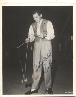 DANNY KAYE - AUTOGRAPHED SIGNED PHOTOGRAPH