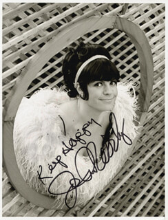 JOANNE WORLEY - INSCRIBED PHOTOGRAPH DOUBLE SIGNED