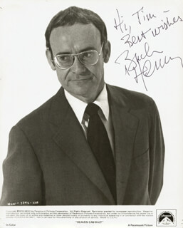 BUCK HENRY - INSCRIBED PRINTED PHOTOGRAPH SIGNED IN INK