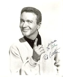 RED BUTTONS - AUTOGRAPHED INSCRIBED PHOTOGRAPH