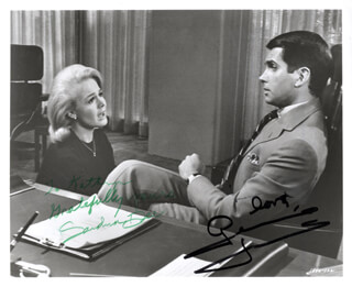 DR, YOU''VE GOT TO BE KIDDING MOVIE CAST - AUTOGRAPHED INSCRIBED PHOTOGRAPH CO-SIGNED BY: GEORGE HAMILTON, SANDRA DEE