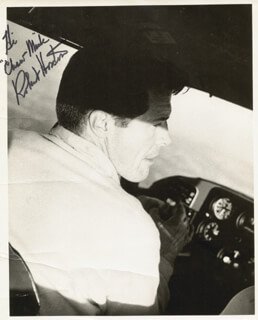 ROBERT HORTON - AUTOGRAPHED INSCRIBED PHOTOGRAPH