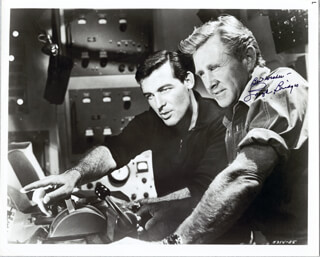 LLOYD BRIDGES - AUTOGRAPHED SIGNED PHOTOGRAPH