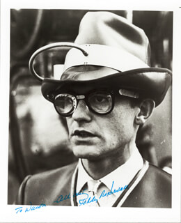 RODDY McDOWALL - AUTOGRAPHED INSCRIBED PHOTOGRAPH