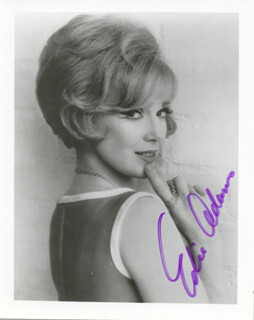Autographs: EDIE ADAMS - PHOTOGRAPH SIGNED