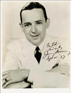 JIMMY DORSEY - AUTOGRAPHED INSCRIBED PHOTOGRAPH 09/15/1937