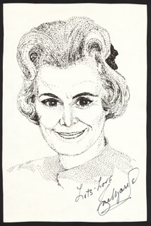 ROSE MARIE - ILLUSTRATION SIGNED