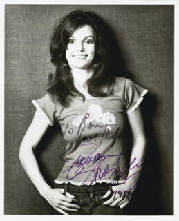 SUSAN STRASBERG - AUTOGRAPHED INSCRIBED PHOTOGRAPH 1984