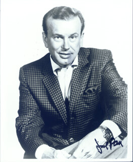 JACK PAAR - AUTOGRAPHED SIGNED PHOTOGRAPH