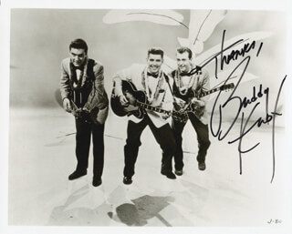 BUDDY KNOX - AUTOGRAPHED SIGNED PHOTOGRAPH