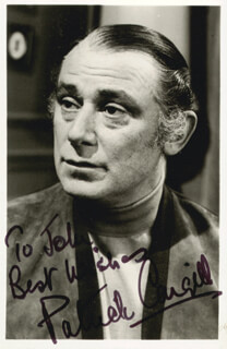 PATRICK CARGILL - AUTOGRAPHED INSCRIBED PHOTOGRAPH