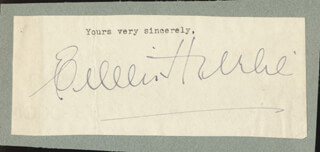 EILEEN HERLIE - TYPED SENTIMENT SIGNED