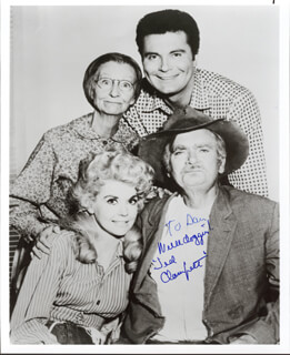 BUDDY EBSEN - INSCRIBED PHOTOGRAPH SIGNED IN CHARACTER