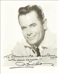 GLENN FORD - AUTOGRAPHED INSCRIBED PHOTOGRAPH