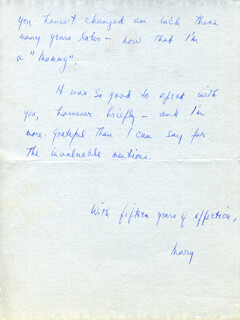 MARY SMALL - AUTOGRAPH LETTER SIGNED 09/08/1952