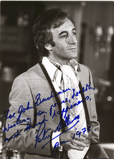PETER SELLERS - AUTOGRAPHED INSCRIBED PHOTOGRAPH 1/1972