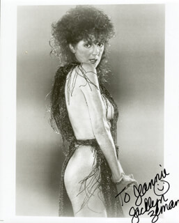 JACKLYN ZEMAN - AUTOGRAPHED INSCRIBED PHOTOGRAPH