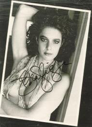 DEBRA WINGER - MAGAZINE PHOTOGRAPH SIGNED