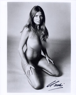 USCHI OBERMAIER - AUTOGRAPHED SIGNED PHOTOGRAPH