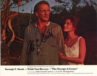 GEORGE C. SCOTT - AUTOGRAPHED SIGNED PHOTOGRAPH