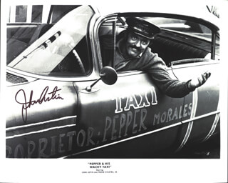 JOHN ASTIN - AUTOGRAPHED SIGNED PHOTOGRAPH