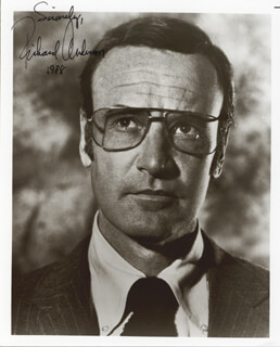 RICHARD ANDERSON - AUTOGRAPHED SIGNED PHOTOGRAPH 1988