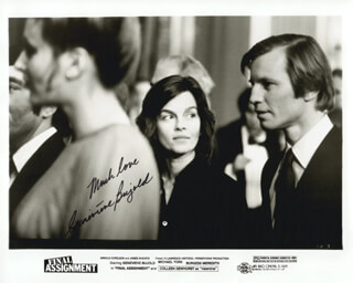 GENEVIEVE BUJOLD - PRINTED PHOTOGRAPH SIGNED IN INK