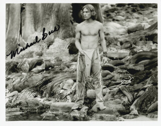 MICHAEL BECK - AUTOGRAPHED SIGNED PHOTOGRAPH