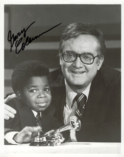 GARY COLEMAN - AUTOGRAPHED SIGNED PHOTOGRAPH